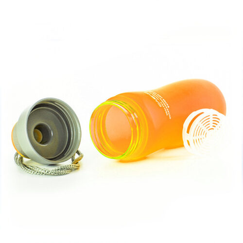 Пляшка для води CASNO 600 мл KXN-1116 Помаранчева фото 3