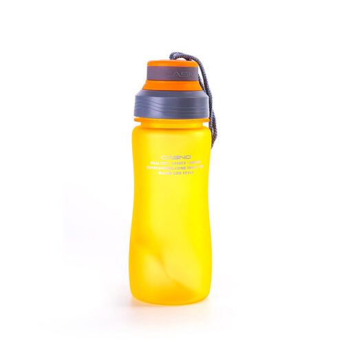 Пляшка для води CASNO 600 мл KXN-1116 Помаранчева фото 2