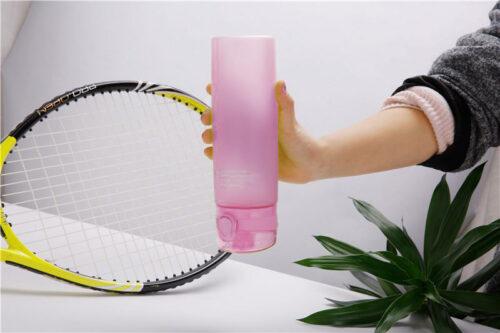 Пляшка для води CASNO 650 мл KXN-1157 Рожева фото 5