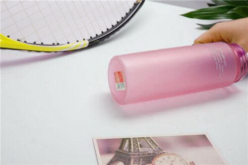 Пляшка для води CASNO 650 мл KXN-1157 Рожева фото 4