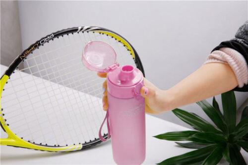 Пляшка для води CASNO 650 мл KXN-1157 Рожева фото 7