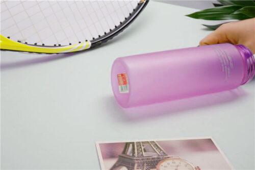 Пляшка для води CASNO 650 мл KXN-1157 Фіолетова фото 4