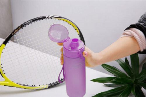 Пляшка для води CASNO 650 мл KXN-1157 Фіолетова фото 7
