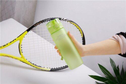 Пляшка для води CASNO 650 мл KXN-1157 Зелена фото 6