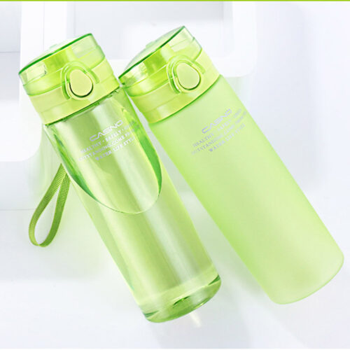 Пляшка для води CASNO 650 мл KXN-1157 Зелена фото 2