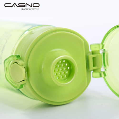 Пляшка для води CASNO 650 мл KXN-1157 Зелена фото 7