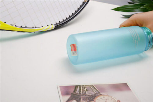 Пляшка для води CASNO 650 мл KXN-1157 Блакитна фото 3