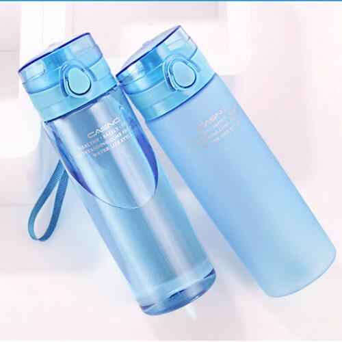 Пляшка для води CASNO 650 мл KXN-1157 Блакитна фото 2
