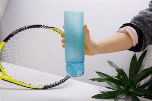 Пляшка для води CASNO 650 мл KXN-1157 Блакитна фото 6