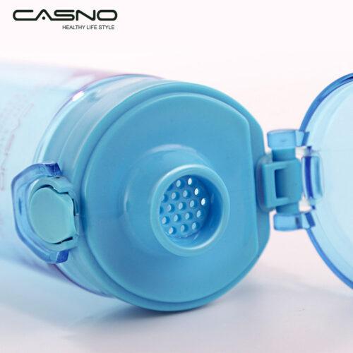 Пляшка для води CASNO 650 мл KXN-1157 Блакитна фото 4