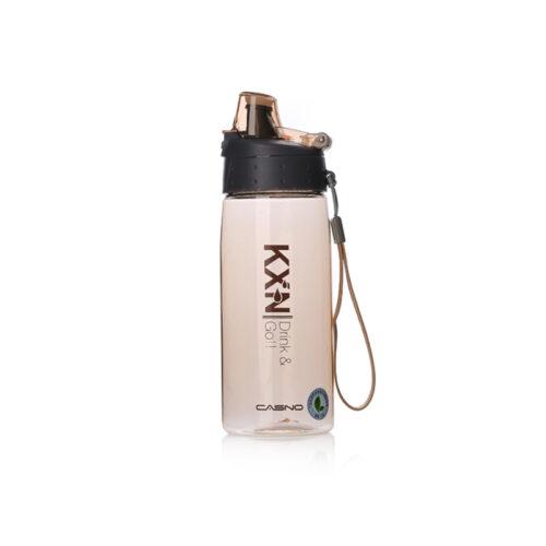 Пляшка для води CASNO 580 мл KXN-1179 Коричнева фото 2