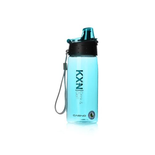 Пляшка для води CASNO 580 мл KXN-1179 Блакитна фото 2