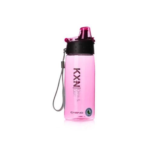 Пляшка для води CASNO 580 мл KXN-1179 Рожева фото 2
