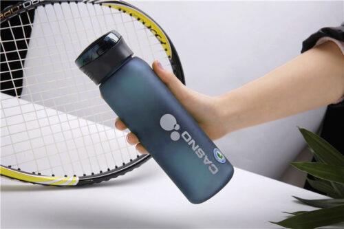 Пляшка для води CASNO 600 мл KXN-1196 Синя з соломинкою фото 3