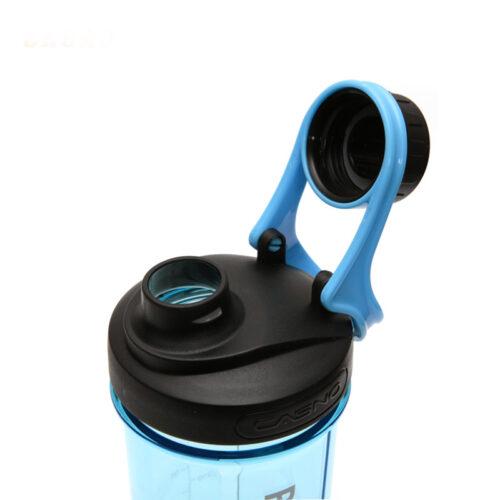 Шейкер з контейнером Casno 600 мл KXN-1199 Синій фото 2