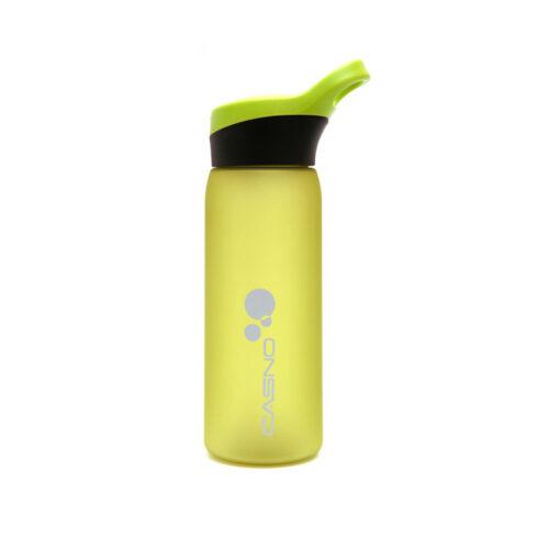 Пляшка для води CASNO 750 мл KXN-1210 Зелена з соломинкою фото 2