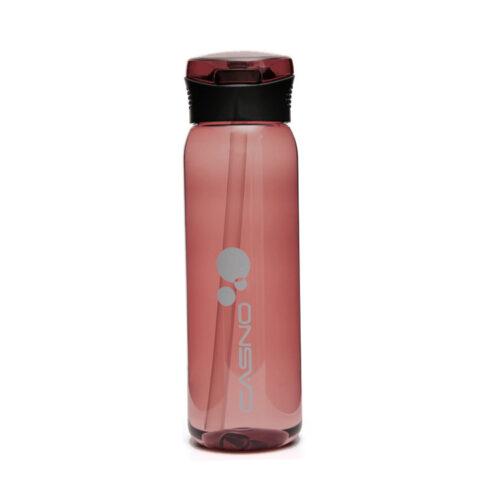 Пляшка для води CASNO 600 мл KXN-1211 Червона з соломинкою фото 2