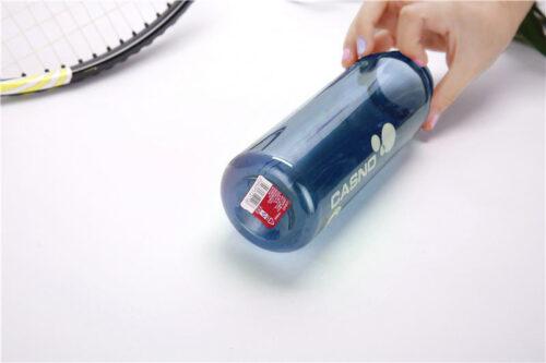 Пляшка для води CASNO 600 мл KXN-1211 Синя з соломинкою фото 3