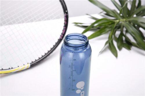 Пляшка для води CASNO 600 мл KXN-1211 Синя з соломинкою фото 6