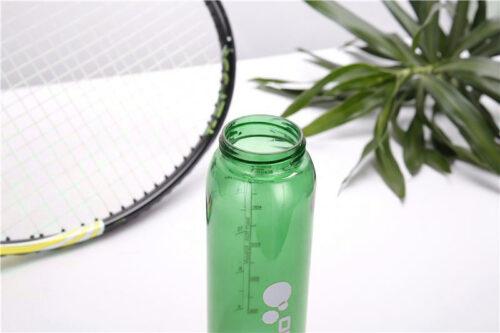 Пляшка для води CASNO 600 мл KXN-1211 Зелена з соломинкою фото 5