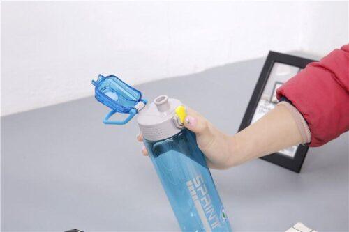Пляшка для води CASNO 750 мл KXN-1216 Sprint Блакитна фото 5