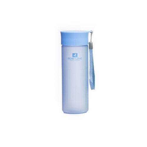 Пляшка для води CASNO 600 мл MX-5014 More Love Блакитна фото 1