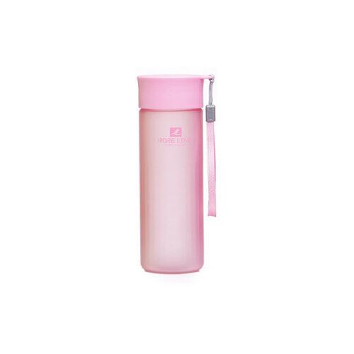 Пляшка для води CASNO 600 мл MX-5014 More Love Рожева фото 1