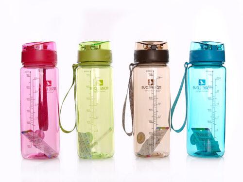 Пляшка для води CASNO 850 мл MX-5040 More Love Рожева фото 6