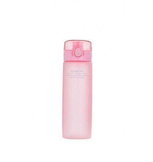 Пляшка для води CASNO 650 мл KXN-1157 Рожева фото 1