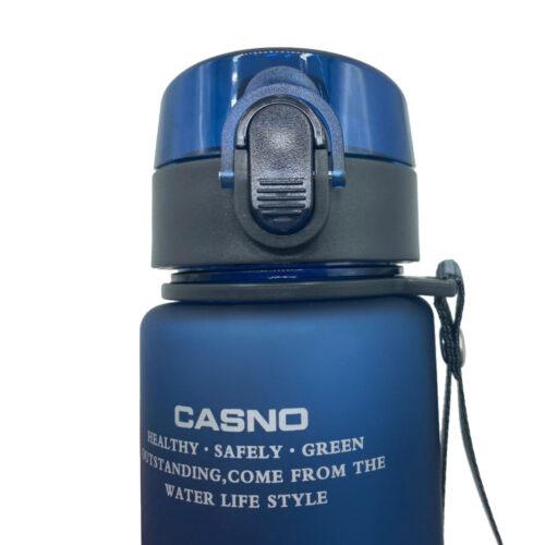 Пляшка для води CASNO 400 мл KXN-1114 Блакитна фото 4