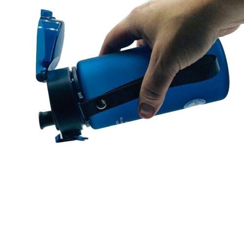 Пляшка для води CASNO 400 мл KXN-1114 Блакитна фото 3