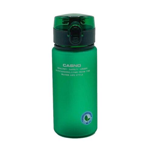 Пляшка для води CASNO 400 мл KXN-1114 Зелена фото 4