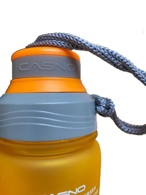 Пляшка для води CASNO 600 мл KXN-1116 Помаранчева фото 5