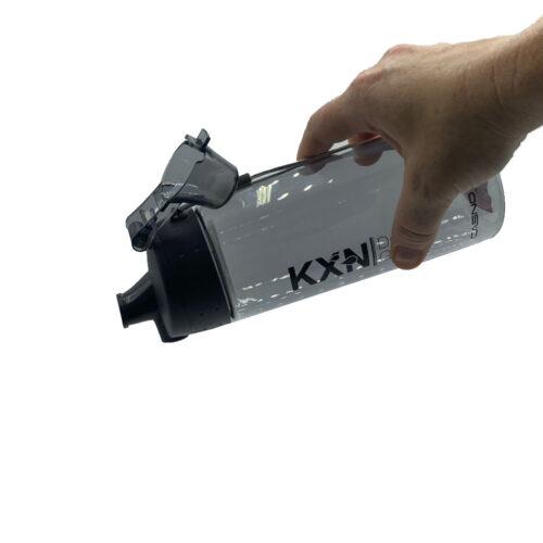 Пляшка для води CASNO 580 мл KXN-1179 Сіра фото 3