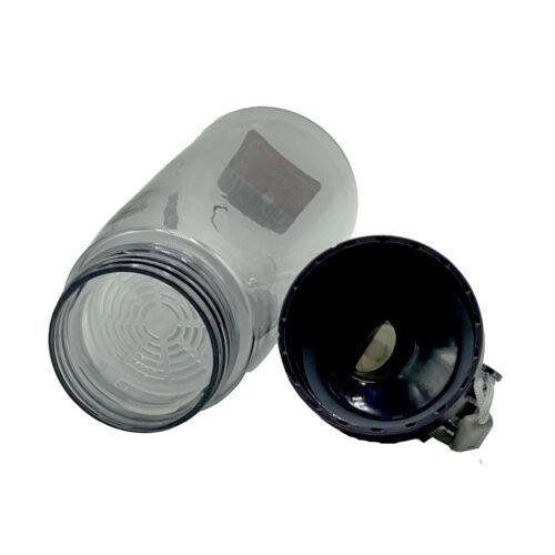 Пляшка для води CASNO 580 мл KXN-1179 Сіра фото 5