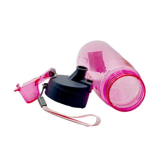 Пляшка для води CASNO 580 мл KXN-1179 Рожева фото 6