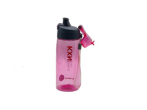 Пляшка для води CASNO 580 мл KXN-1179 Рожева фото 5