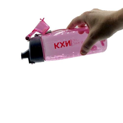 Пляшка для води CASNO 580 мл KXN-1179 Рожева фото 4