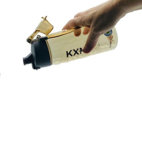 Пляшка для води CASNO 580 мл KXN-1179 Коричнева фото 3