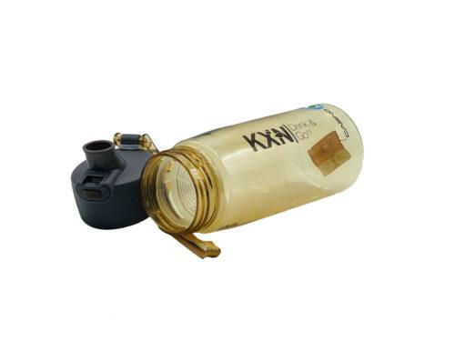 Пляшка для води CASNO 580 мл KXN-1179 Коричнева фото 4