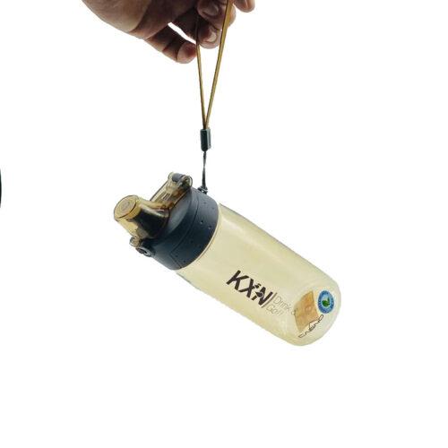 Пляшка для води CASNO 580 мл KXN-1179 Коричнева фото 5