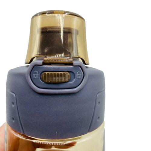 Пляшка для води CASNO 580 мл KXN-1179 Коричнева фото 7