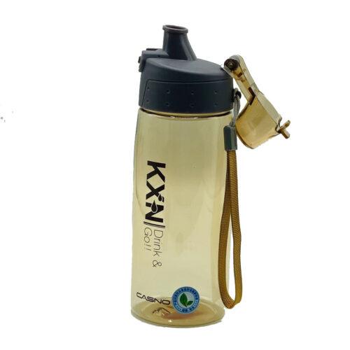 Пляшка для води CASNO 580 мл KXN-1179 Коричнева фото 6