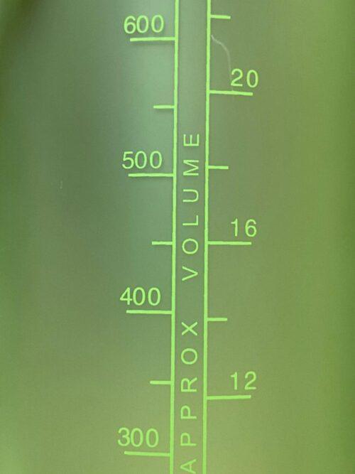 Пляшка для води CASNO 850 мл KXN-1183 Зелена + металевий вінчик фото 6
