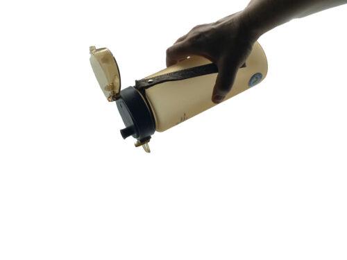 Пляшка для води CASNO 850 мл KXN-1183 Коричнева  + металевий вінчик фото 2