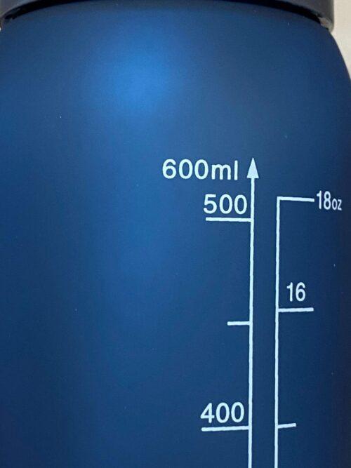 Пляшка для води CASNO 600 мл KXN-1196 Синя з соломинкою фото 7