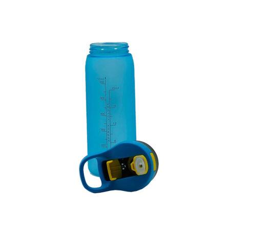 Пляшка для води CASNO 750 мл KXN-1210 Блакитна з соломинкою фото 5