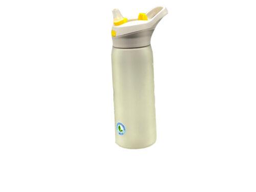 Пляшка для води CASNO 750 мл KXN-1210 Сіра з соломинкою фото 6