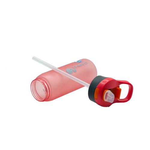 Пляшка для води CASNO 750 мл KXN-1210 Червона з соломинкою фото 5