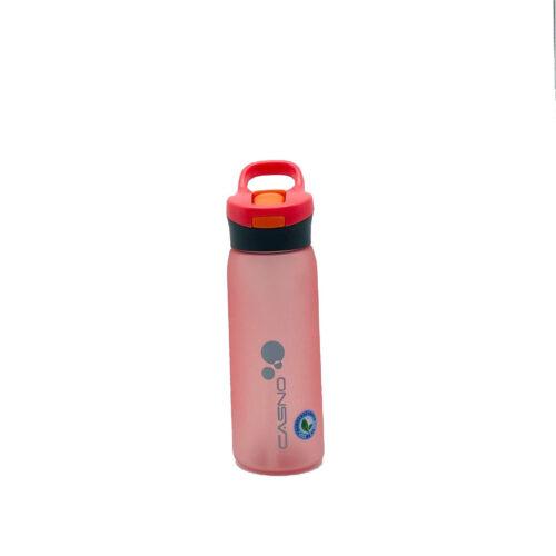 Пляшка для води CASNO 750 мл KXN-1210 Червона з соломинкою фото 7
